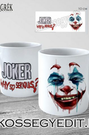 Joker Miert Vagy Ilyen Komoly