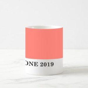 Limitált kiadású Pantone 2019 év színe bögre