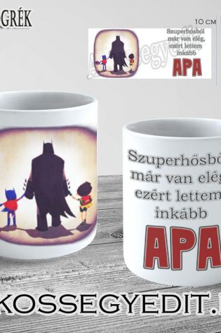 Szuperhos Batman Apa Alkossegyedit