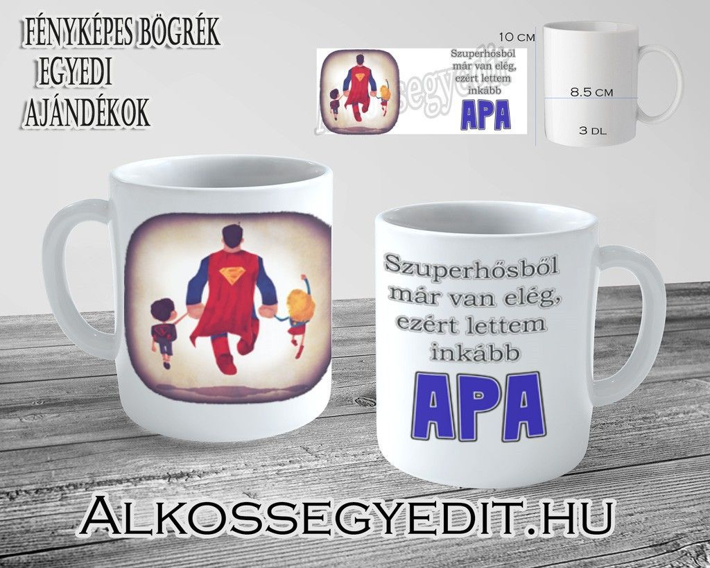 Szuperhos Superman Apa