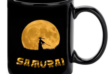 Samurai Bogre Fekete Felirat