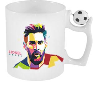 Focilabdas Bogre Messi Vector